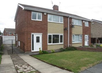 Thumbnail 3 bed semi-detached house to rent in Bretby Close, Bessacarr, Doncaster