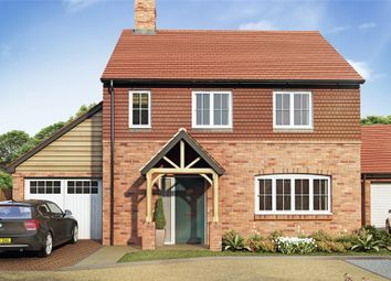 Thumbnail 4 bed detached house for sale in Boyneswood Lane, Medstead, Alton, Hampshire
