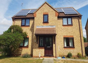Thumbnail 4 bed detached house for sale in Flint Close, Ryhall, Stamford
