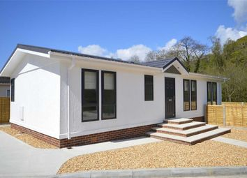 Thumbnail 2 bed mobile/park home for sale in Glendene Park, Bashley Cross Road, New Milton
