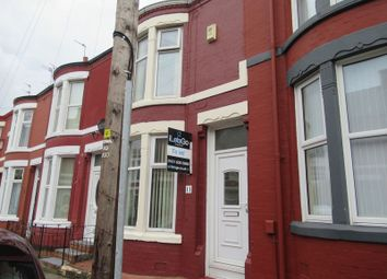 Thumbnail 2 bedroom terraced house to rent in Hallville Road, Wallasey