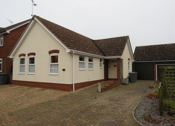 Thumbnail 2 bedroom detached bungalow for sale in The Mowbrays, Framlingham, Woodbridge