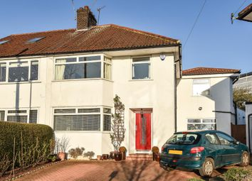 Thumbnail 4 bed semi-detached house to rent in Wentworth Close, Finchley
