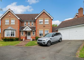 Thumbnail 5 bed detached house for sale in Chattock Avenue, Solihull