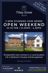 Thumbnail 4 bed detached house for sale in Plot 25, Tilley Grove, Off Roden Grove, Wem, Shrewsbury