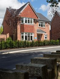 Thumbnail 4 bed detached house for sale in Stockport Road, Gee Cross