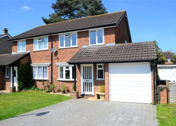 Thumbnail 3 bed semi-detached house for sale in Roundhead Road, Theale, Reading