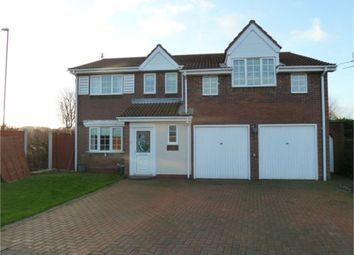 Thumbnail 4 bed detached house for sale in Woburn Drive, Sunderland, Tyne And Wear