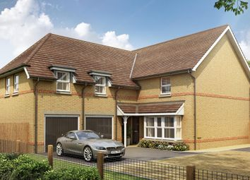 "Thumbnail 4 bed detached house for sale in ""Rothbury"" at Pedersen Way, Northstowe, Cambridge"