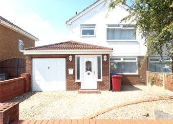 Thumbnail 3 bed semi-detached house for sale in New Hutte Lane, Halewood, Liverpool