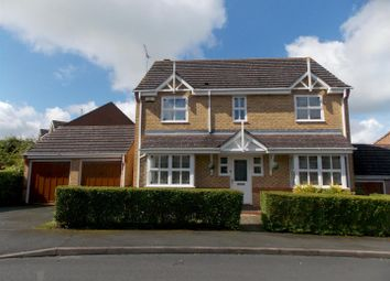 Thumbnail 4 bed detached house for sale in Isaacs Way, Droitwich