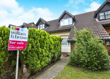 Thumbnail 3 bedroom terraced house for sale in Vienna Walk, Toftwood, Dereham