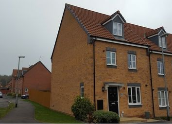 Thumbnail 4 bed town house for sale in Mill Lane, Huthwaite, Nottinghamshire