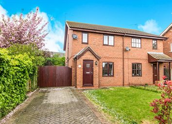 Thumbnail 3 bed semi-detached house for sale in The Glebe, Sturton By Stow, Lincoln