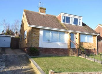 Thumbnail 3 bed detached bungalow for sale in Heyshott Close, North Lancing, West Sussex