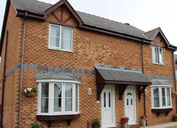 Thumbnail 3 bed semi-detached house for sale in Maes Meddyg, Caernarfon, Gwynedd