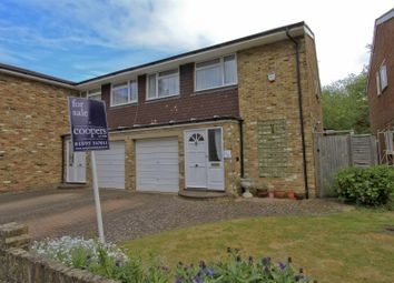 Thumbnail 4 bed semi-detached house for sale in Stedman Close, Ickenham
