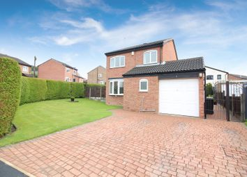 Thumbnail 3 bed detached house for sale in Greenfield Vale, Kippax, Leeds