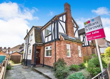 Thumbnail 3 bed semi-detached house for sale in Whitehall Road, Norwich