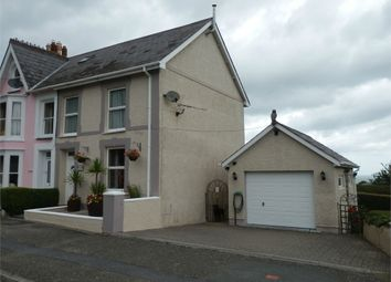 Thumbnail 4 bed end terrace house for sale in Arba Cottage, New Quay, Ceredigion
