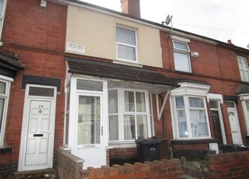 Thumbnail 3 bedroom terraced house for sale in Hordern Road, Whitmore Reans, Wolverhampton