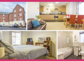 Thumbnail 2 bed flat for sale in Swan Crescent, Newport