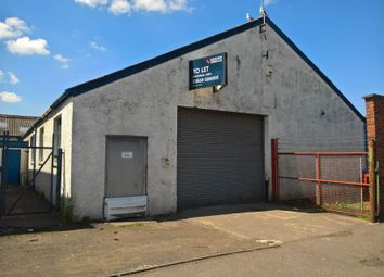 Thumbnail Light industrial to let in 21 Bentinck Street, Kilmarnock