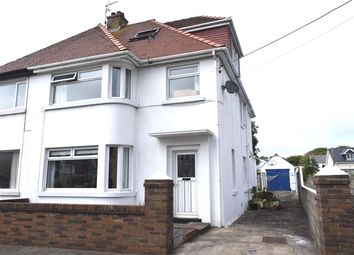 Thumbnail 4 bed semi-detached house for sale in New Road, Porthcawl