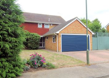 Thumbnail 4 bed detached house for sale in Saunders Copse, Hook Heath, Woking