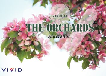 Thumbnail 2 bed flat for sale in The Orchards, Aldershot