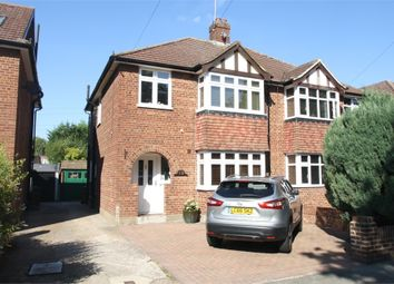 Thumbnail 3 bedroom semi-detached house for sale in Leacroft Close, Staines-Upon-Thames, Surrey