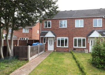 Thumbnail 3 bed end terrace house for sale in Walnut Close, Hough, Crewe, Cheshire