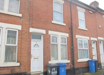 Thumbnail 2 bed terraced house to rent in Boden Street, Derby
