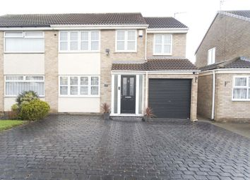 Thumbnail 4 bed semi-detached house for sale in Frensham Drive, Hartlepool