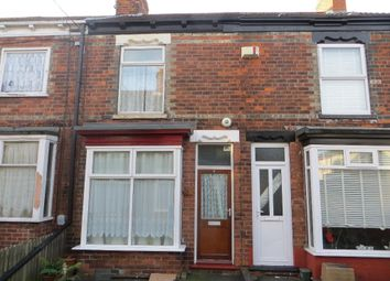 Thumbnail 2 bedroom terraced house for sale in Hildas Avenue, Perth Street West, Hull