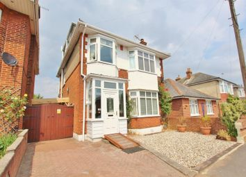 Thumbnail 4 bed detached house for sale in Queen Mary Avenue, Moordown, Bournemouth