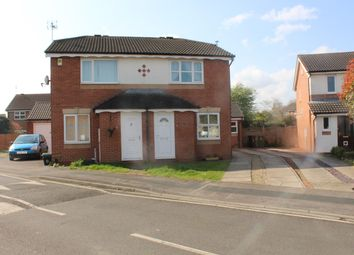 Thumbnail 2 bed semi-detached house to rent in Whitley Close, York