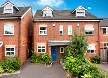 Thumbnail 3 bed town house for sale in Cofield Road, Boldmere, Sutton Coldfield