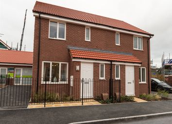 "Thumbnail 3 bed terraced house for sale in ""The Hanbury  "" at Willow Walk, Crediton"