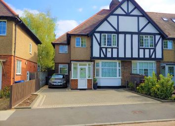 Thumbnail 4 bed end terrace house for sale in Manship Road, Mitcham, Surrey