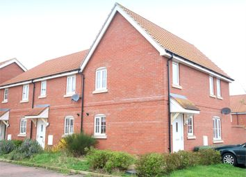 Thumbnail 2 bed end terrace house for sale in Mallow Close, Eynesbury, St. Neots
