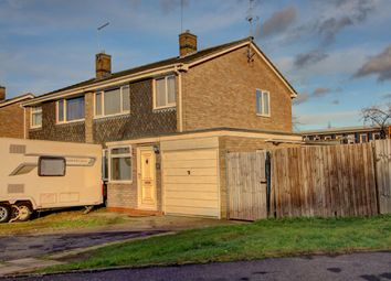 Thumbnail 3 bed semi-detached house for sale in Robert Rayner Close, Orton Longueville, Peterborough