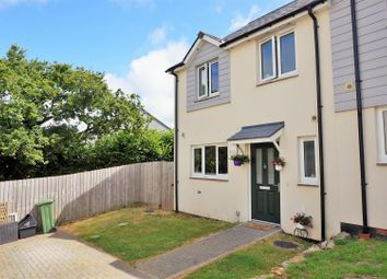 Thumbnail 3 bed semi-detached house for sale in The Glebe, St. Cleer, Liskeard