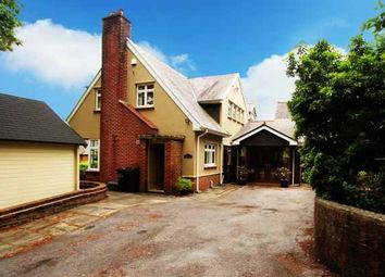 Thumbnail 5 bed detached house for sale in Vicarage Drive, Swansea, West Glamorgan