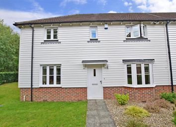 Thumbnail 3 bed end terrace house for sale in Mcarthur Drive, Kings Hill, West Malling, Kent