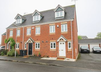 Thumbnail 3 bed town house to rent in Rosemary Way, Bermuda Park, Nuneaton