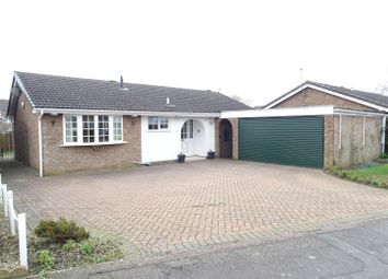 Thumbnail 3 bed detached bungalow for sale in Chestnut Close, Ibstock, Leicestershire