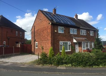 Thumbnail 3 bed semi-detached house for sale in Bouverie Parade, Sneyd Green