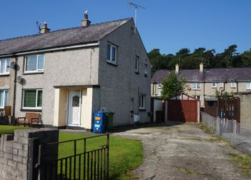 Thumbnail 3 bed end terrace house for sale in Min Y Ddol, Bangor