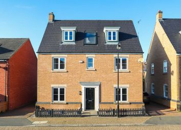 Thumbnail 5 bed detached house for sale in Digby Close, Duston, Northampton